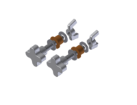 Quick-Release Pivot Bolts