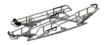 Apex 3 Fat Tire Combo Rack