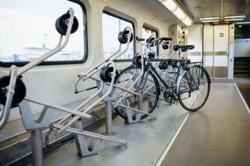 Spinlock Interior Bike Rack