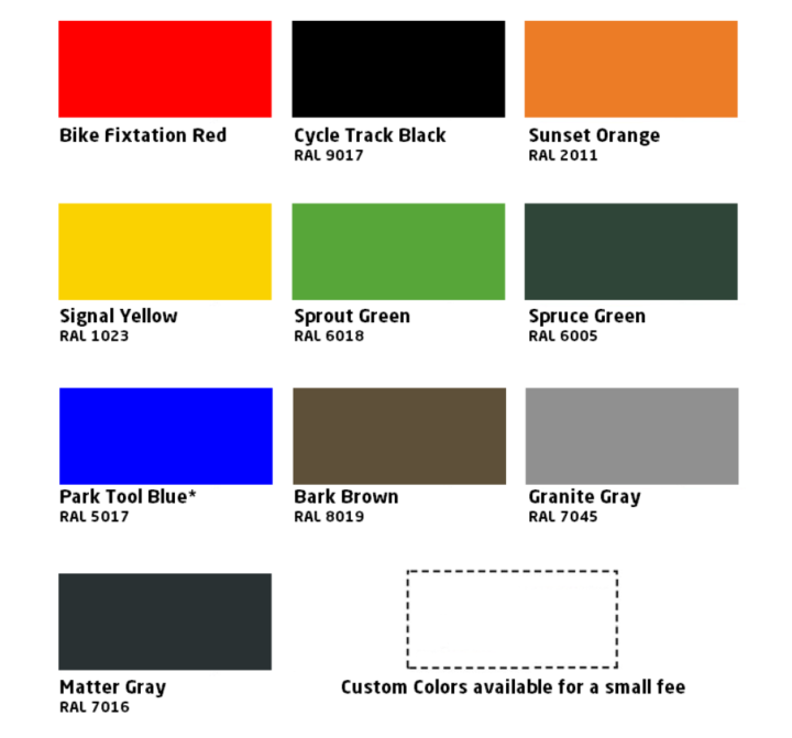 Bike Fixation Colors