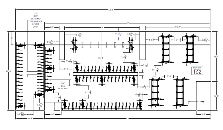 Bike Parking Layouts and Site Planning. Bike Parking Layouts and Site Planning   Sportworks